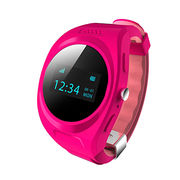 Hong Kong SAR GPS watch phone,2-way calling/Location report each minute/magnetic charge/watch release alert