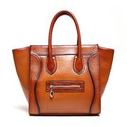 Handmade leather bag from China (mainland)