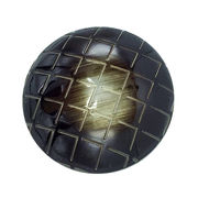 Fashion shank checkered pattern polyester buttons from China (mainland)