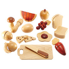 Pretend play wooden cutting toy from China (mainland)