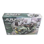DIY assembly military car block toys from China (mainland)