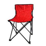 600D polyester plastic metallic green red blue navy-blue folding chair