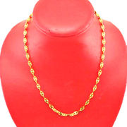 Gold plated stainless steel short necklace from China (mainland)