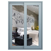Aluminium frame glass sliding door from China (mainland)