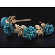 Gold Leaves Flower Headwear from China (mainland)