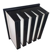 Multiple V-bank rigid filter from China (mainland)