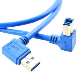USB 3.0 AM right angle 90 degree to BM right angle from China (mainland)