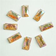 Fashion multi color rhinestone resin beads Manufacturer