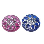 Resin fashion button from China (mainland)