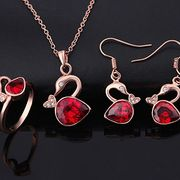 Rose Gold-Plated Alloy Necklace Set from China (mainland)