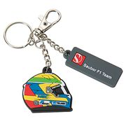 Personalized Rubber Keychain from China (mainland)