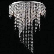 Chrome finished/fancy design/modern crystal ORBS/rain drop chandelier