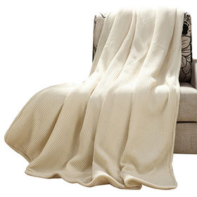 Wool/Polyester Blanket from China (mainland)