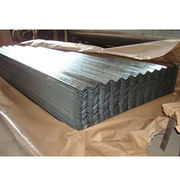 Corrugated galvanized steel sheet from China (mainland)