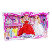 Lovely doll toys set from China (mainland)