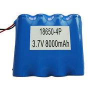 8000mah li-ion battery pack from China (mainland)