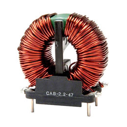 China Toroidal Common-mode Choke Coils in Various Sizes, Comes with High Frequency