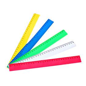 Plastic ruler, customized logos welcomed
