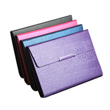 China Leather material and hard cover notebook, for business, size in A5