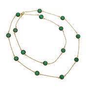Gemstone Chain Necklace from India