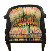 Velvet digital print sofa fabric from China (mainland)
