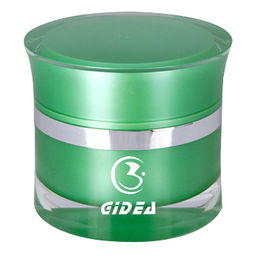 Cream Green Acrylic Cosmetic Containers from China (mainland)