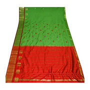 Indian Sari Dress Up from India