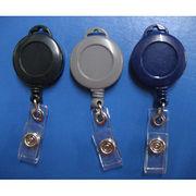 Identification usage retractable plastic yoyo from Taiwan
