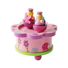 China Wooden carousel music box