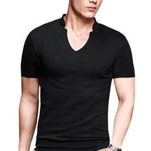 V neck t shirts from China (mainland)