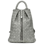 Latest new style Woven big pu leather Backpack Manufacturer