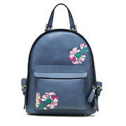 2015 Fashionable PU Embroidered Backpack Ladies ba from China (mainland)