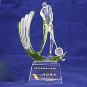 Crafts crystal trophies from China (mainland)
