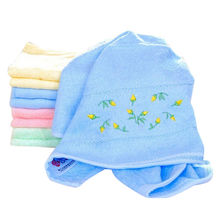 China Customized face towels, small MOQ are accepted, with embroidery patterns