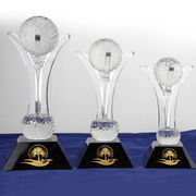 Golf Crystal Trophy from China (mainland)