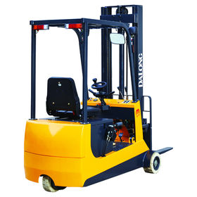 1300kg/2500mm Standard-type Electric Forklift, 3-wheel Counter-balanced from Wuxi Dalong Electric Machinery Co. Ltd