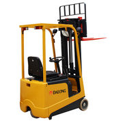 1000kg Capacity Mini-type Electric Forklift, EPS System from Wuxi Dalong Electric Machinery Co. Ltd