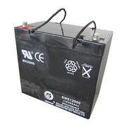 12V 55Ah Sealed Lead-acid Battery from China (mainland)