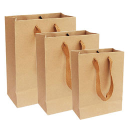 Kraft paper gift bag from China (mainland)
