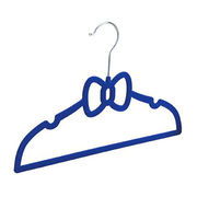 Flocked bow hanger from China (mainland)