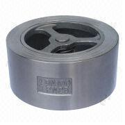 Stainless steel wafer check valve from China (mainland)