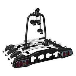 China Top of the range full size towbar mounted bike carrier with great flexibility (for 4 bikes)