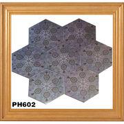 Hexagonal Ceramic Tiles from China (mainland)