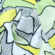 Cotton Touch Print Jersey Fabric Featuring UV-Cut Manufacturer