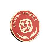 Metal Badges, Stamping/Die-stamp, Die-cast/Die-struck, Silver Plated from Gold Valley Industrial Limited