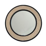 Round Rustic framed wall mirror from China (mainland)