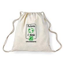 India Cotton Cinch Bag
