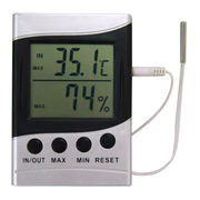 LCD Wire Indoor Outdoor Weather Station from China (mainland)