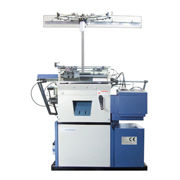 Fully automatic seamless glove knitting machine from South Korea