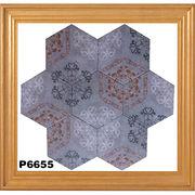New Hexagonal Tiles from China (mainland)